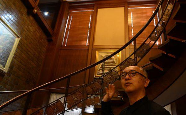 「うつくしい階段」筆者の下坂浩和さん(建築家)