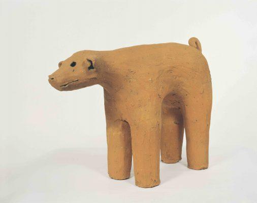 犬形埴輪(奈良国立博物館)