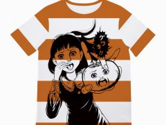 "『KAKI HALLOWEEN Instagram CAMPAIGN』楳図かずお先生""監修オリジナルデザインTシャツ"
